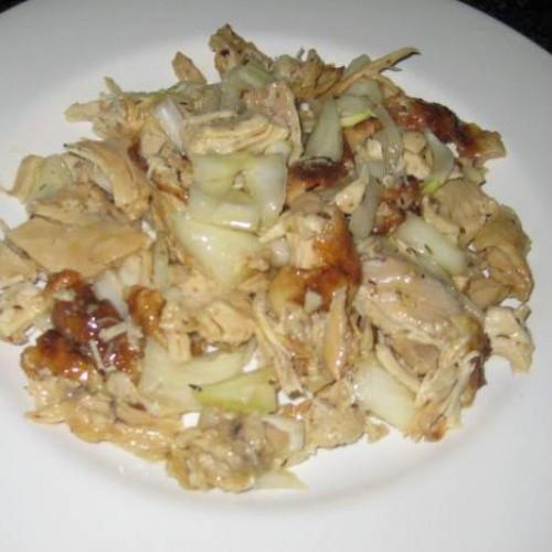 ensalada de pollo asado