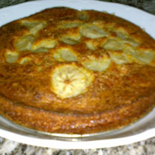 tarta de peras casera