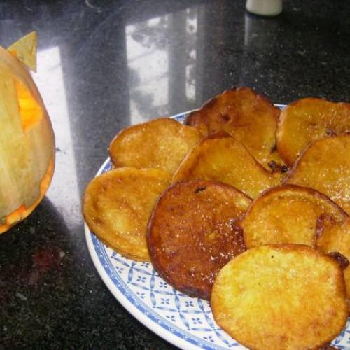 chulas de calabaza  (calacú en gallego)