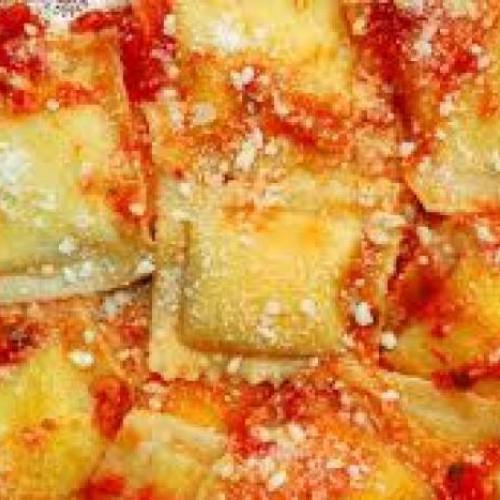 raviolis de jamón
