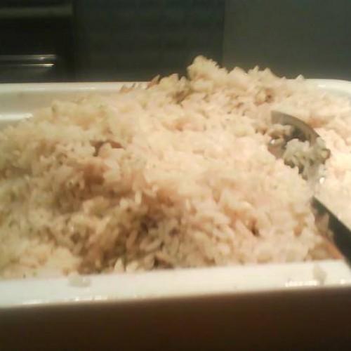 arroz frito para acompañar