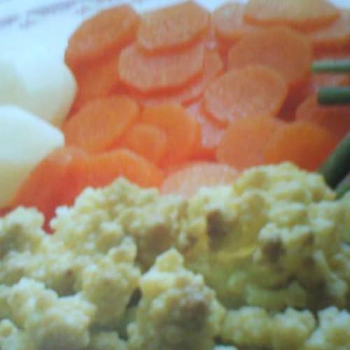 surtido de verduras al vapor