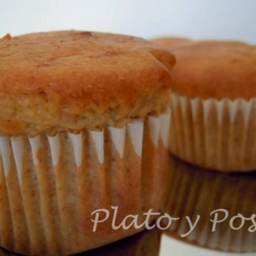 muffins de limón ligeros