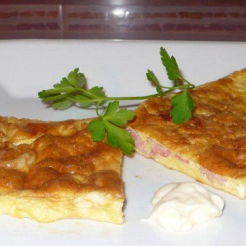 tortilla francesa de jamón york