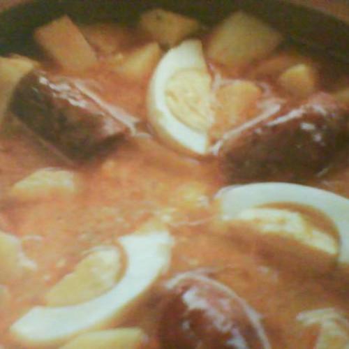 guiso de patatas con chistorra
