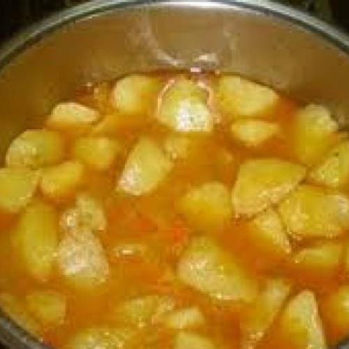 guiso con patatas de mi abuela