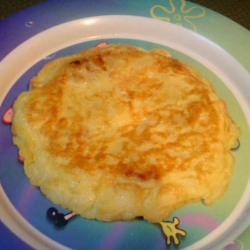 mini tortilla de patata para mi peque