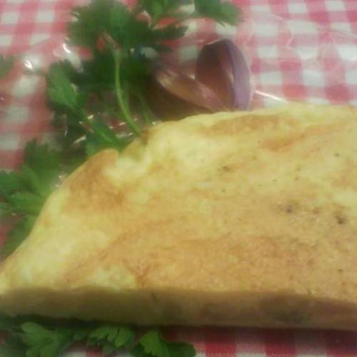 tortilla de patata y garbanzos