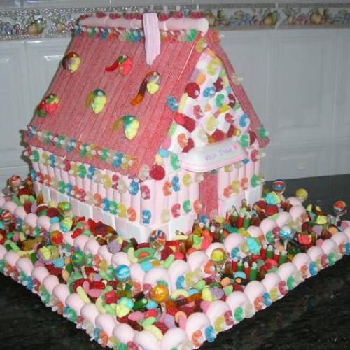 tarta de chuches casa