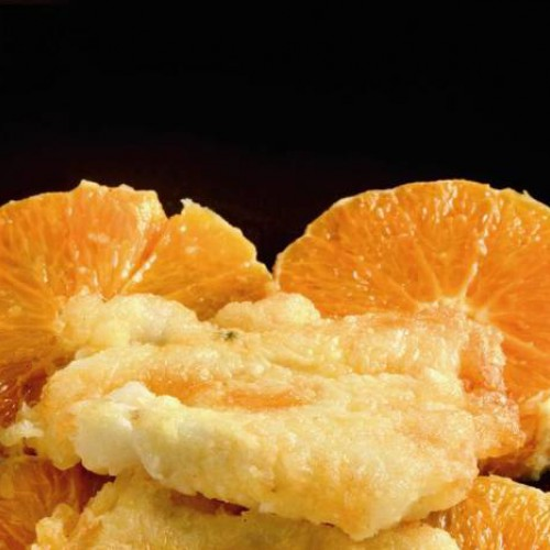 Bacalao a la naranja