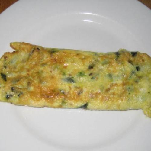 tortilla de cáscara de pepino