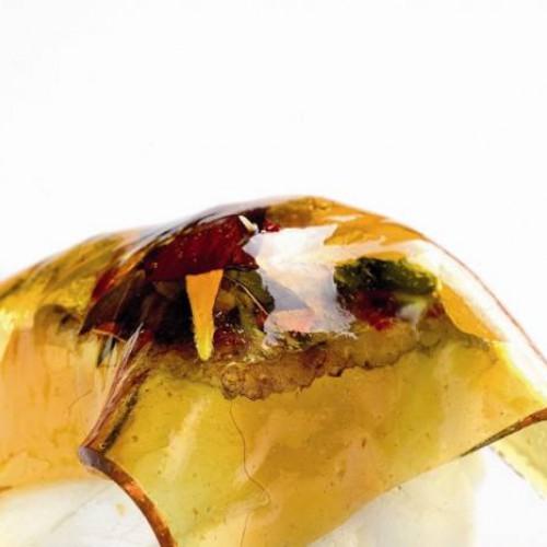 Bacalao con patatas, alioli de manzana y transparencia de miel