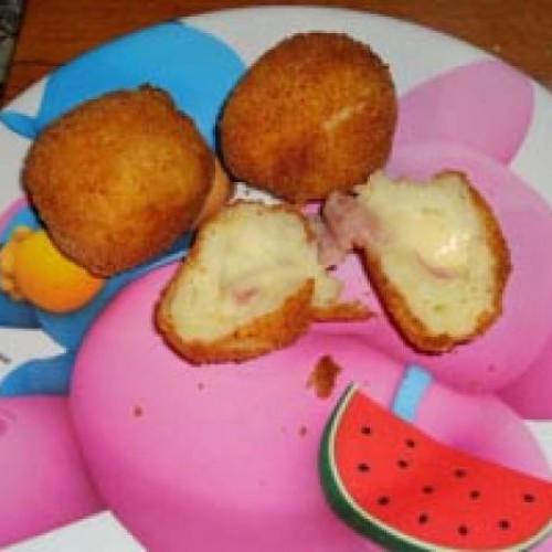 bolitas de calabacín y patata