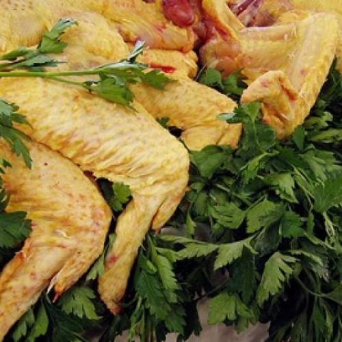 alitas de pollo maceradas