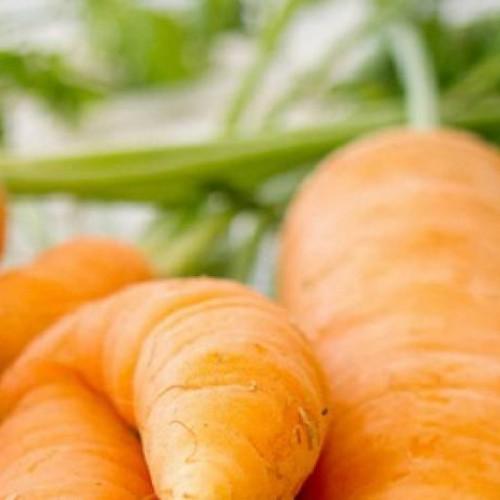 arvejas guisantes y zanahorias glaseadas