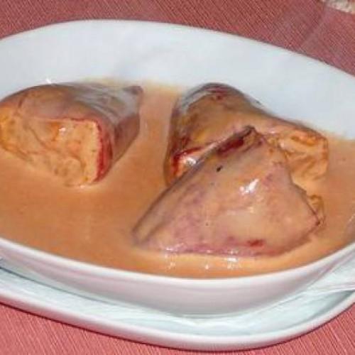 pimientos de piquillos rellenos de surimi
