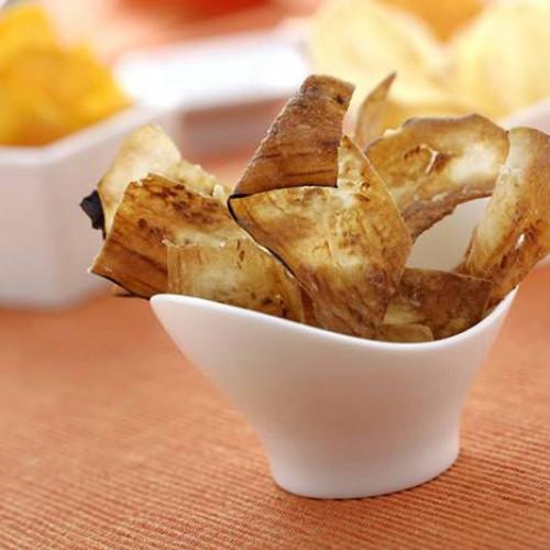 Chips de berenjena
