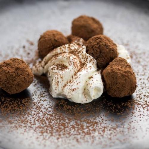 Trufa de chocolate y ron