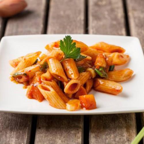 Macarrones Con Tomate Y Verduras Recetas Gallina Blanca