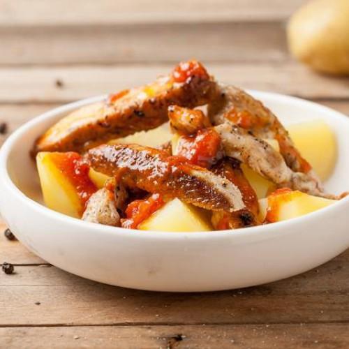 Ensalada de patata y pollo