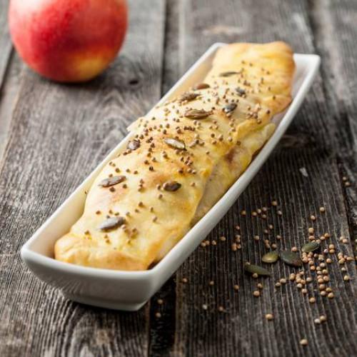 Empanadilla de endivia y manzana