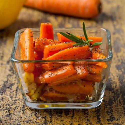 Zanahorias con romero