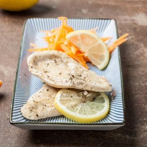 receta de filete de pollo con limón