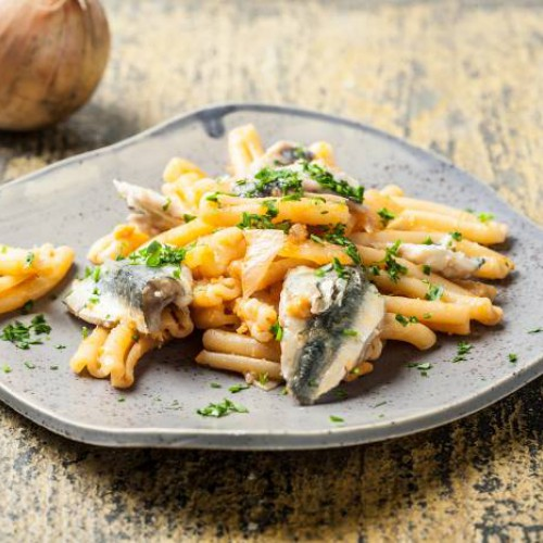 pasta con sardinas