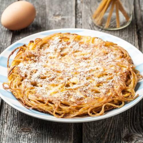 tortilla de espaguetis