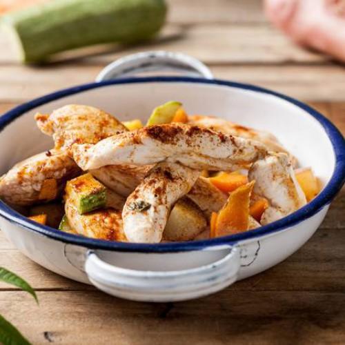 Receta de pollo con pimentón