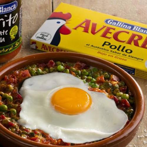 Recetas de Huevos a la flamenca