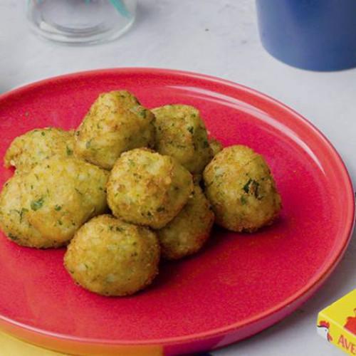 Bolas de patata y arroz