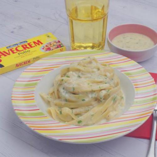 Pasta a las dos mantequillas