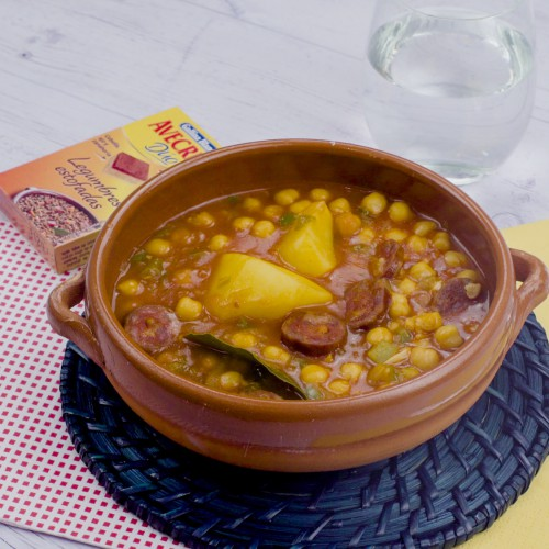 Potaje de garbanzos