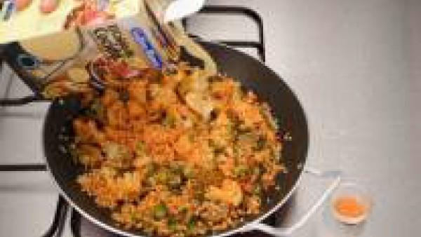 Cómo hacer arroz con verduras - paso 2
