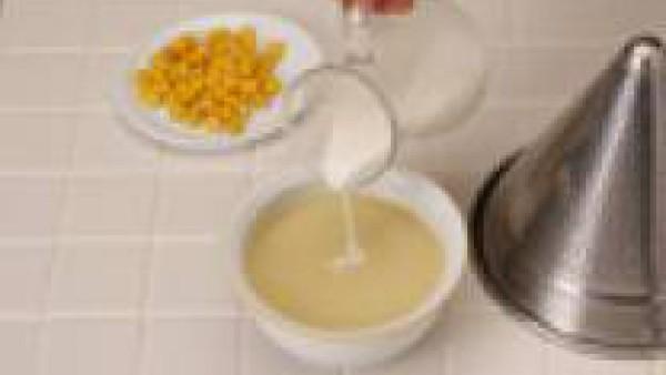 Crema de Maíz Paso 3