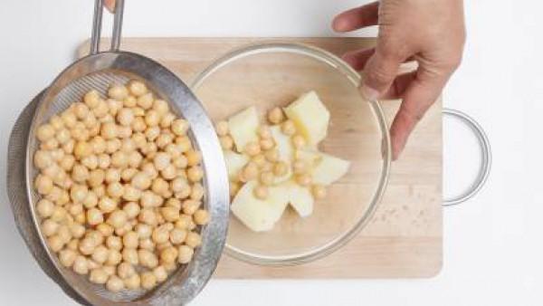 Cómo preparar Ensalada de garbanzos- Paso 3