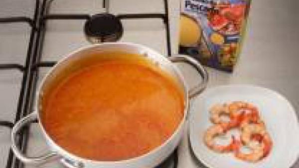 Sopa de marisco Paso 2