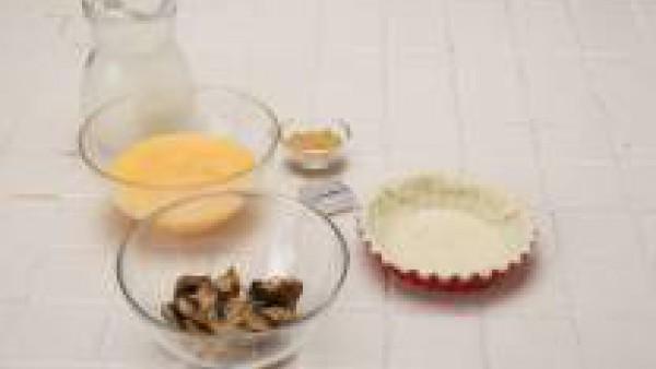 Se limpian los champiñones y se saltean con la mantequilla