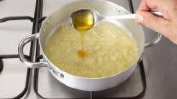 Lomo con cebolla y miel