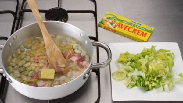 Cómo preparar Cazuela de habas con jamón-Paso 3