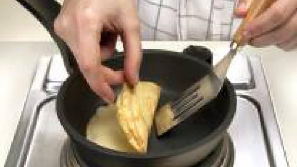 prepara las crepes