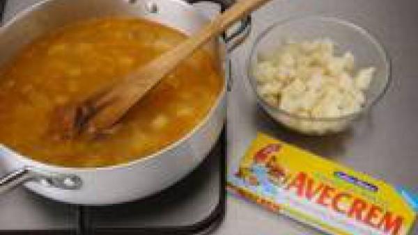 Primer paso sopa de patata