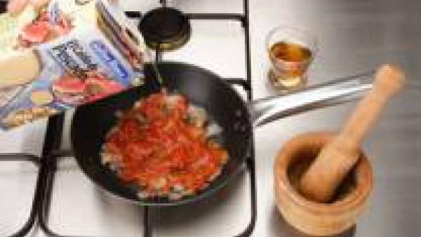 Cómo preparar Langostinos flameados - paso1