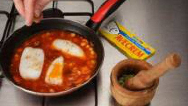 Cómo preparar Sepia con garbanzos- Paso 3