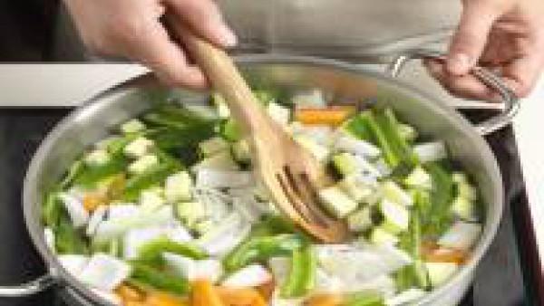 Cuece las verduras y Avecrem