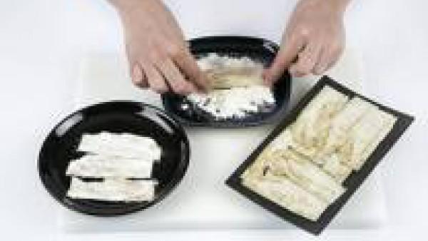 Cómo preparar chips de berenjena - paso 3