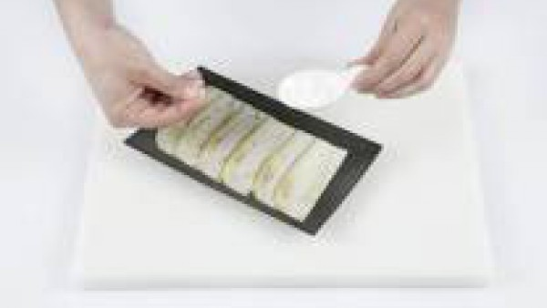 Cómo preparar chips de berenjena - paso 2