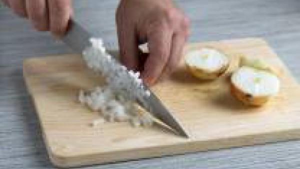 Cómo preparar Risotto con coliflor y parmesano- Paso 2