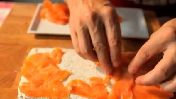Para los de salmón: